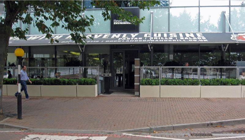 Exterior Planting for the Docklands Bar & Grill, London E16 1AL