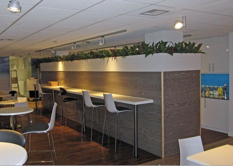 Artificial planting for the Astral Building Crawley RH10 9XA