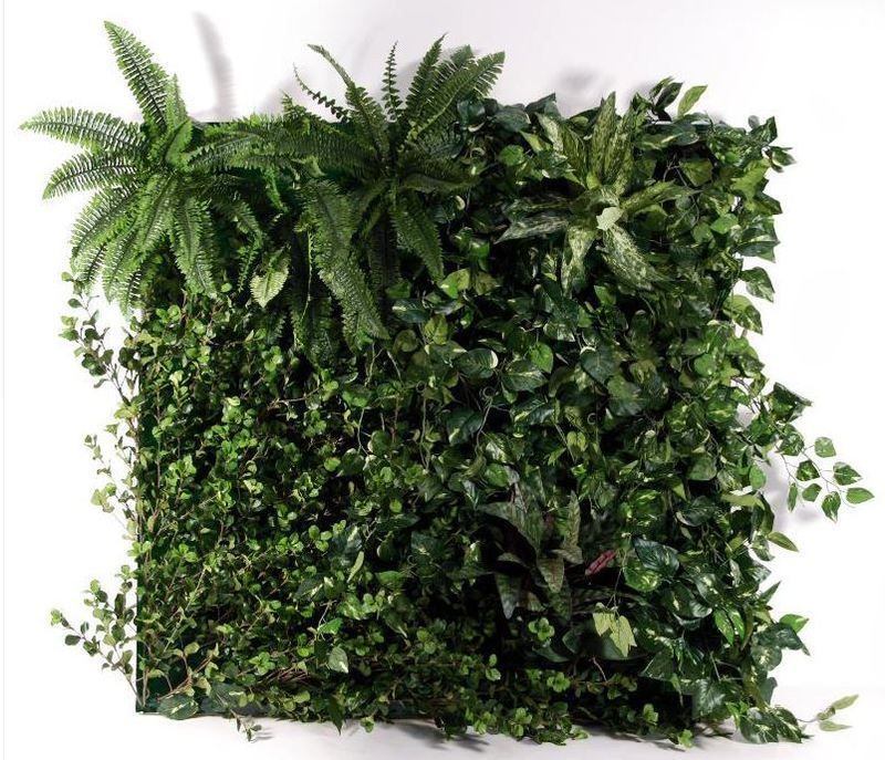 Artificial Green Wall Panel 100cm square