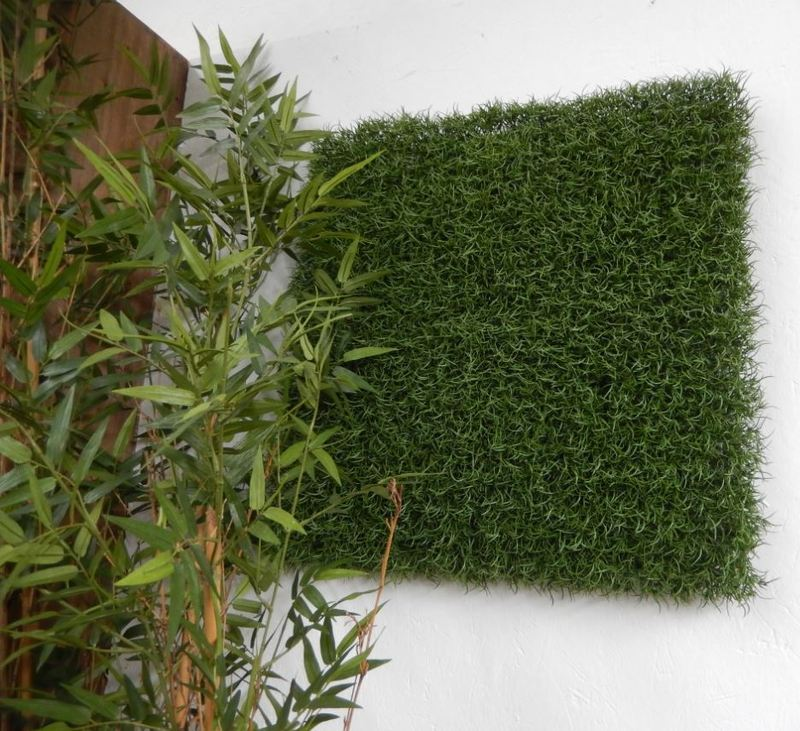 Artificial Green Wall Panels with same species planting