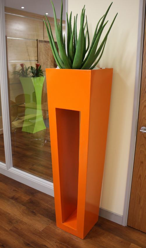 Super modern plant displays for this city Lawyers London offices