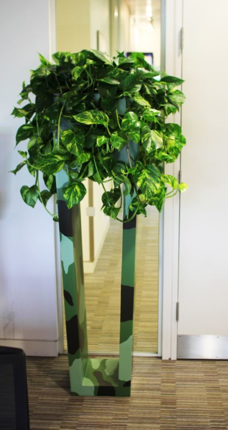 Latest Plant Displays designs for offices in London
