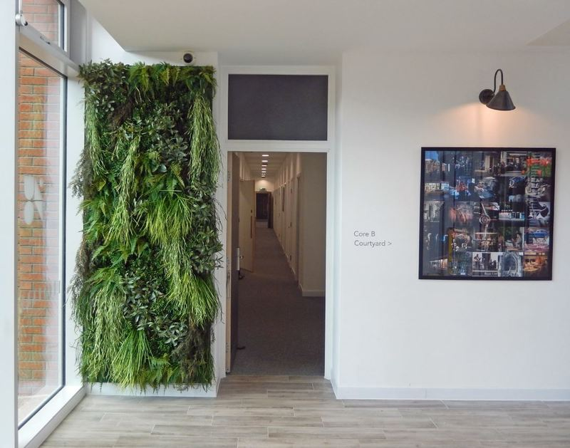 Artificial Green Walls installed in London