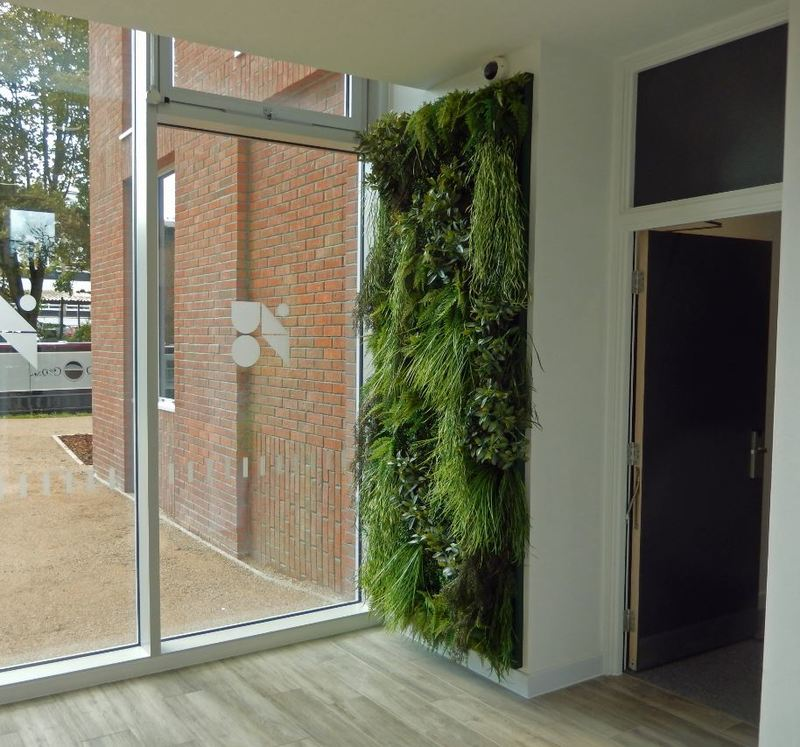 Artificial Green Walls for Offices & Receptions in Birmingham & the West Midlands