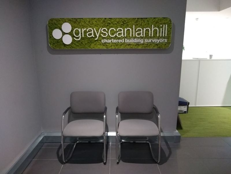 Moss Signs for Office Receptions in the West Midlands