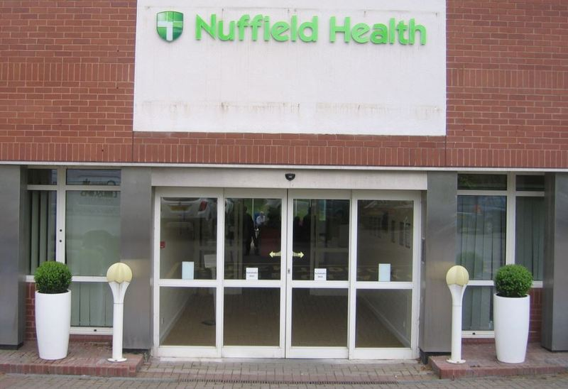 Nuffield Health Plant displays Leamington Spa