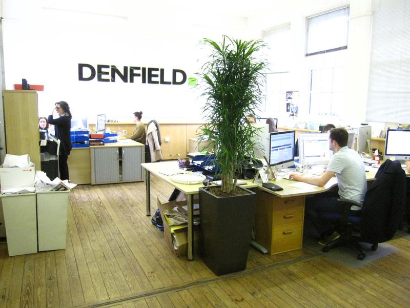 Denfield Marketing Agency Leamington Spa interior plants