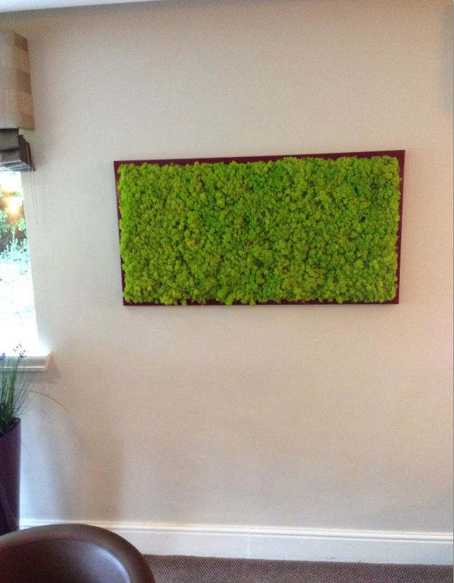 Moss Picture frames can be supplied in natural wood or any other colour to match your interior decor