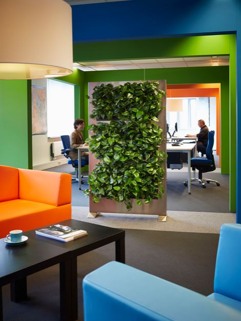 Green Wall office dividers & screens