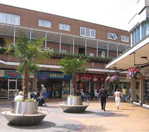 Gracechurch Shopping centre Sutton Coldfield gets new look exterior plant displays