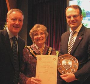 We scoop two Best in Bloom Awards and a commendation.
