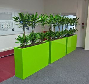Bold Bright Barrier Planters