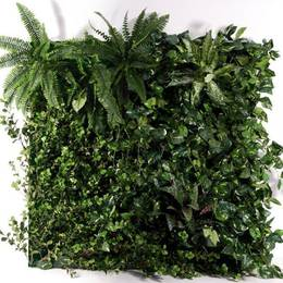Artificial Green Walls Planted Frame Mixed