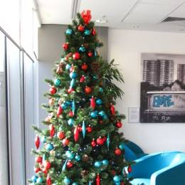 7ft Artificial Xmas Tree For Solicitors In Birmingham B3