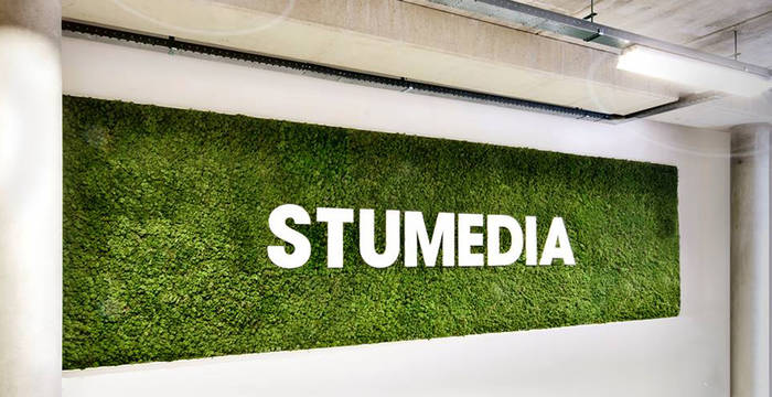 Create a Moss Wall with your company name or logo
