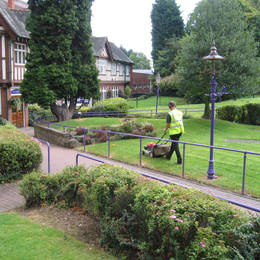 Our Grounds Maintenance Services in Birmingham include Grass Cutting