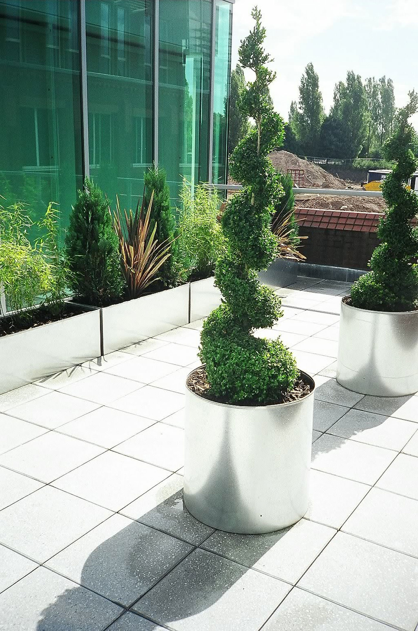 Commercial Exterior Landscaping Services Office Landscapes