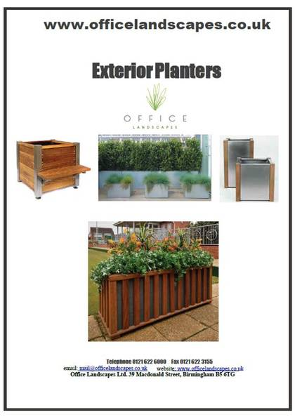 Exterior Planters & Containers Brochure