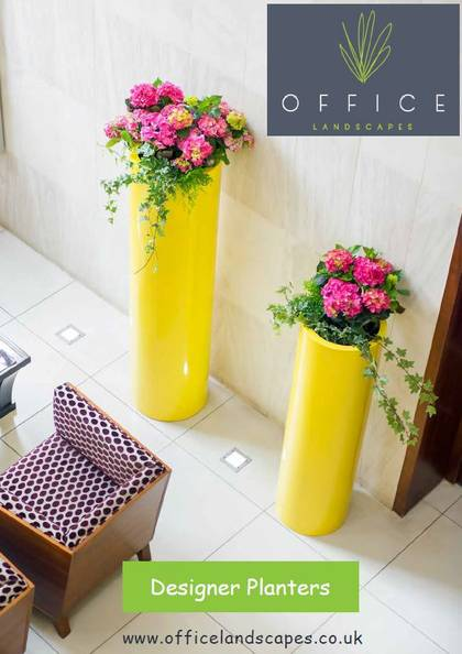Designer Plant Containers for all types of Offices Workplaces