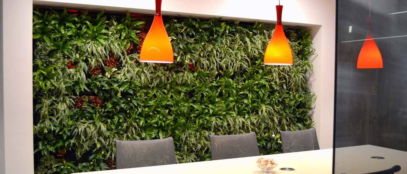 Office Landscapes Green Walls are supplied & maintained in Birmingham & the West Midlands