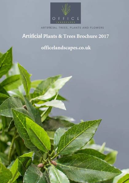 Artificial Plants & Trees Brochure for offices, hotels & restaurants