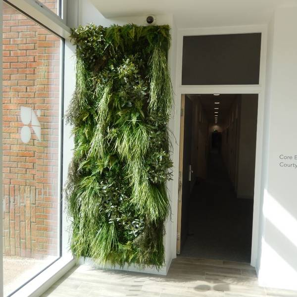 Artificial Green Walls for Hotels, Restaurants, Offices & Reception areas in London
