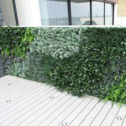 Artificial Green Wall In Exterior Balcony Location