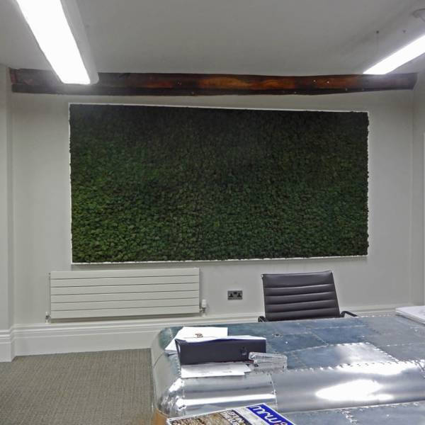 Moss Walls Supplied And Installed To offices throughout the West Midlands & Manchester